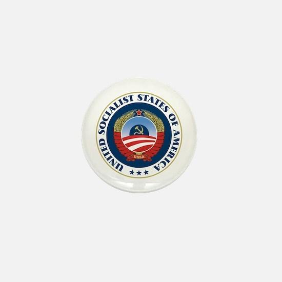 USSA [seal] Mini Button (10 pack)