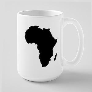 African Continent Large Mug