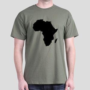 African Continent Dark T-Shirt