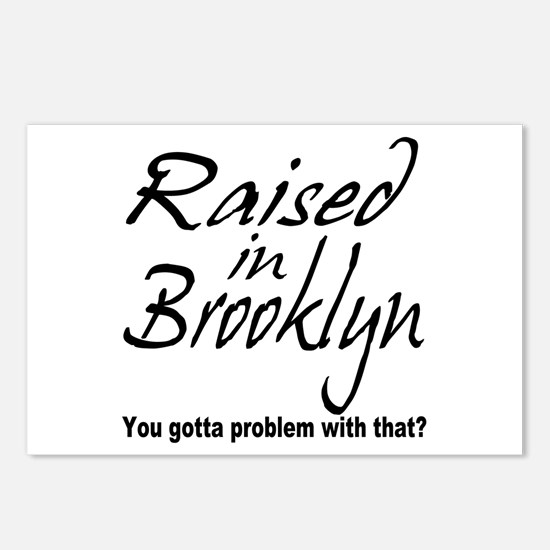 Raised in Brooklyn Postcards (Package of 8)