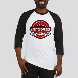 Manitou Springs Red Baseball Jersey