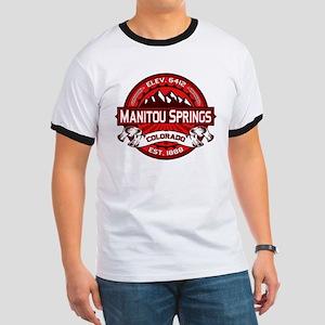 Manitou Springs Red Ringer T