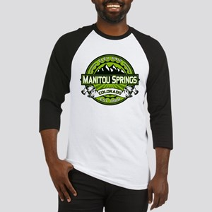Manitou Springs Green Baseball Jersey