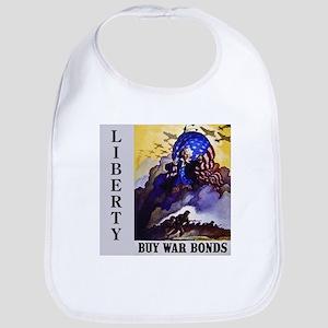 Liberty Buy War Bonds Bib