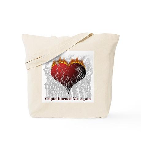 Cupid Burn Tote Bag
