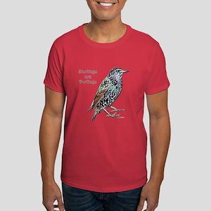 Starlings Are Darlings Dark T-Shirt