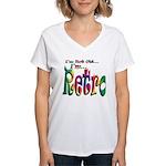 I'm Not Old, I'm Retro Women's V-Neck T-Shirt