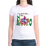 I'm Not Old, I'm Retro Jr. Ringer T-Shirt