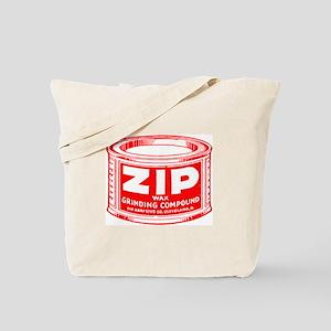 'Red Zip' Tote Bag