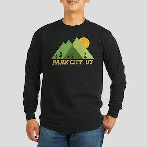 park city utah mountain sun Long Sleeve T-Shirt