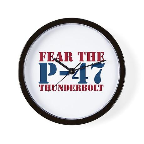 Fear The P-47 Wall Clock