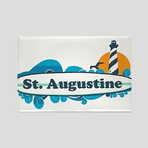 St. Augustine - Palm Surf Design. Magnets