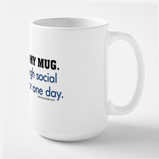 You Read My Mug Large Mug