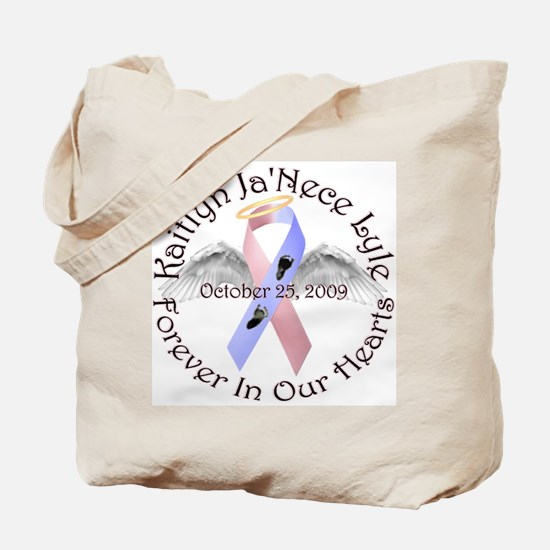 Kaitlyn Ribbon Wings Tote Bag