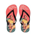 Over Thinking Everything Flip Flops