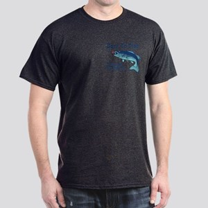 Funny Fishing Dark T-Shirt