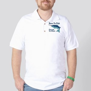 Funny Fishing Golf Shirt