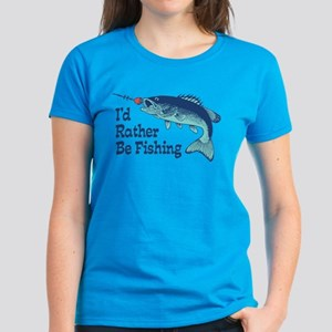 Funny Fishing Women's Dark T-Shirt