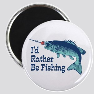 Funny Fishing Magnet