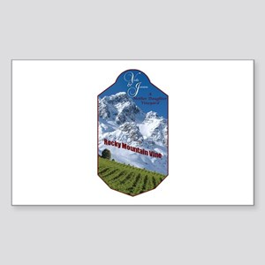 Custom - Rocky Mountain Vine Sticker (Rectangle 10