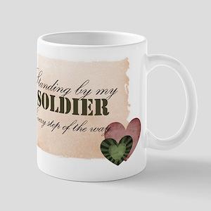 standing by my soldier Mug