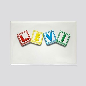 Levi Rectangle Magnet