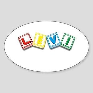 Levi Sticker (Oval)