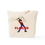 Flailed Tote Bag