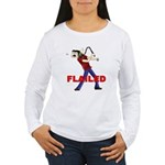 Flailed Women's Long Sleeve T-Shirt