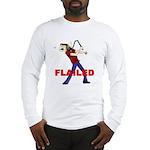 Flailed Long Sleeve T-Shirt