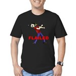 Flailed Men's Fitted T-Shirt (dark)