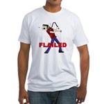 Flailed Fitted T-Shirt
