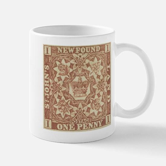 Newfoundland 1d imperf Mug