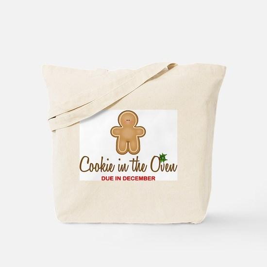Cookie Due December Tote Bag