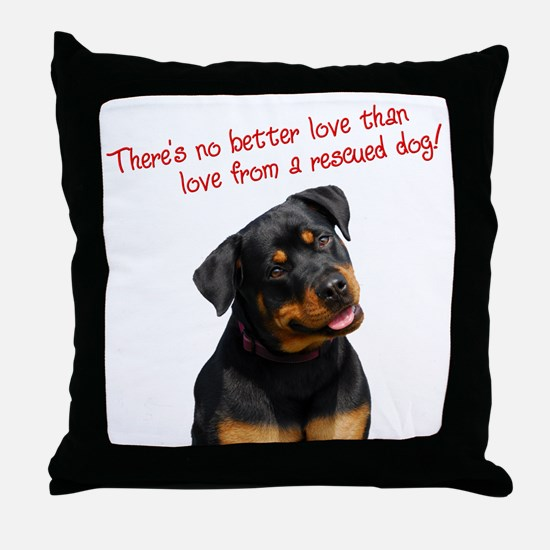 No Better Love - Throw Pillow