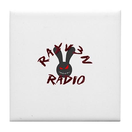 Rayv3n Radio Tile Coaster