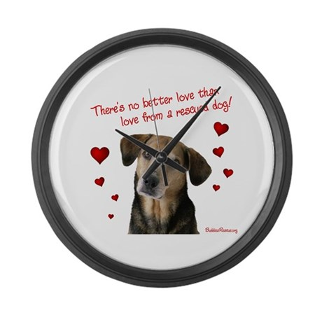 No Better Love - Large Wall Clock