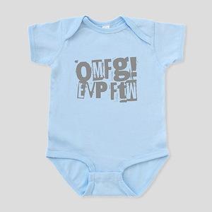 Ghost Hunting EVP Infant Bodysuit