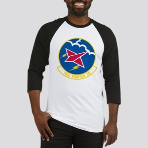 163d Fighter Squadron Baseball Jersey
