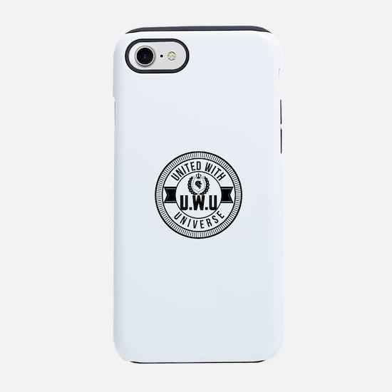 uwu logo iPhone 7 Tough Case