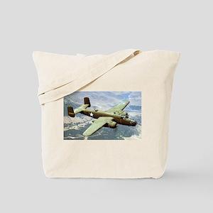 B-25 In Flight Tote Bag
