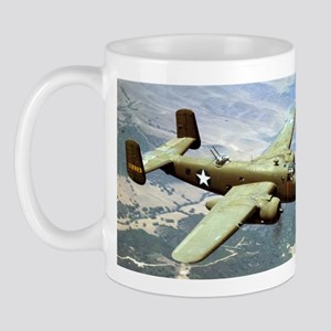B-25 In Flight Mug