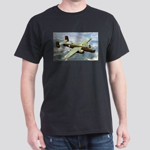 B-25 In Flight Black T-Shirt