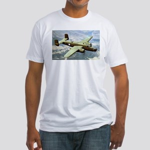 B-25 In Flight Fitted T-Shirt