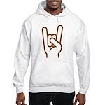 Metal Horns Hooded Sweatshirt