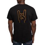 Metal Horns Fitted Shirt T-Shirt