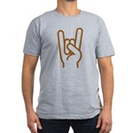 Metal Horns Fitted Shirt