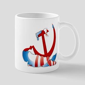 Inside The Obama Logo Mug