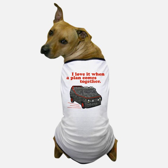 A-Team van & quote Dog T-Shirt