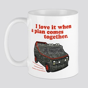 A-Team van & quote Mug